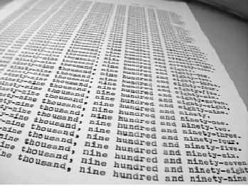 one of MANY sheets of           paper (JPG, 14 kB)